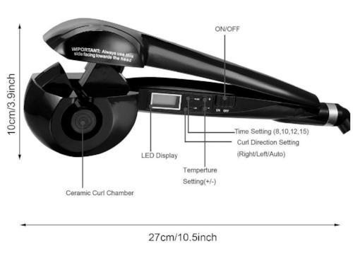 Automatic Hair Curler - Automatic Curling Iron