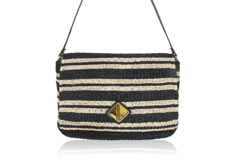 Alex Striped Shoulderbag