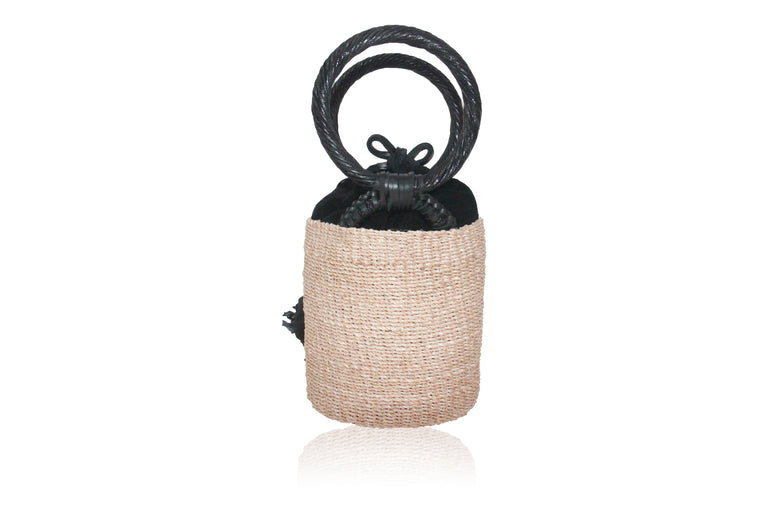 Alexa Evening Bag Natural/Black