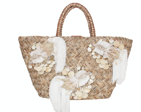 Arista Tote Natural & White