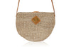 Carrie Sling Natural with Tan Leather