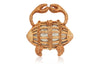 Crab Wicker Handbag