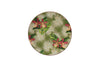 Flora Anahaw Dessert/Cocktail Plates Magenta & Green (Set of 6)