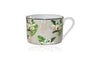 Flora Anahaw Cup and Saucer White & Green (Set of 6)
