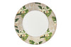 Flora Anahaw Dinner Plates White & Green (Set of 6)