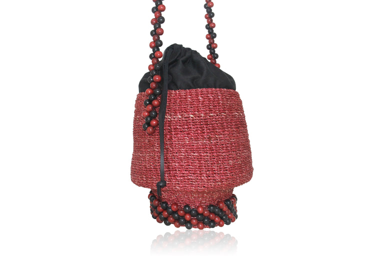 Pulpo Beaded Bucket