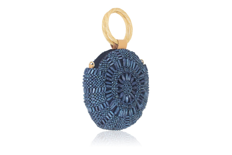 Sunburst Mini Navy Blue