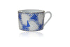 Blue Anahaw Cup and Saucer (Set of 6)