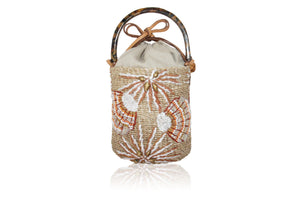 Tara Beaded Mini Bucket