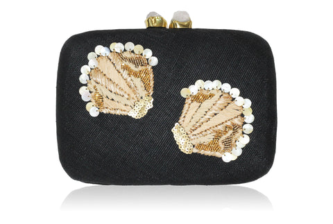 Tasi Beaded Clutch