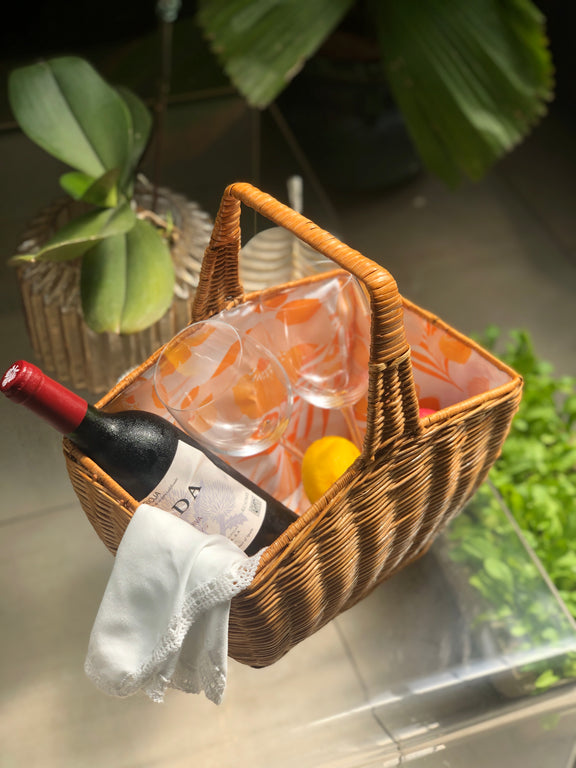 Garden Party Picnic Basket