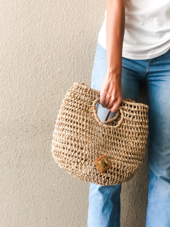 Lisa Hobo (Natural/Black) PREORDER