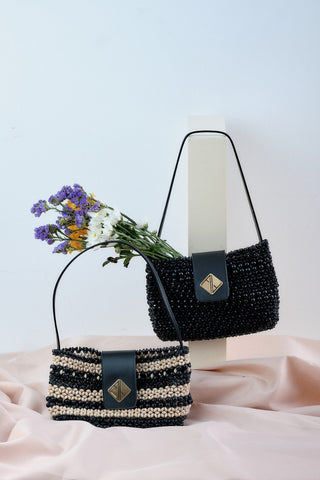 Bella Shoulder bag (Black)