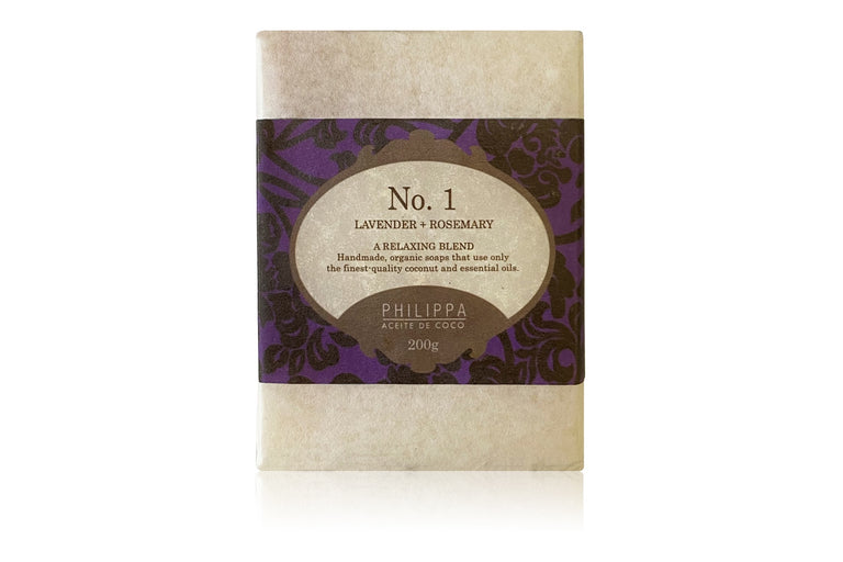 Philippa Aceite de Coco No.1  Lavender Rosemary (large bar)