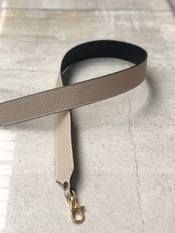Pop Strap 1.25 (Taupe & Black)