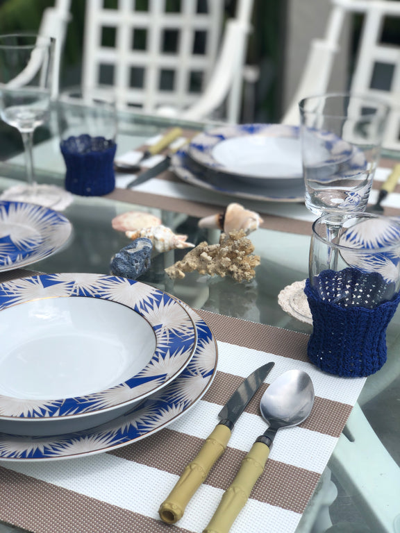 Blue Anahaw Plates