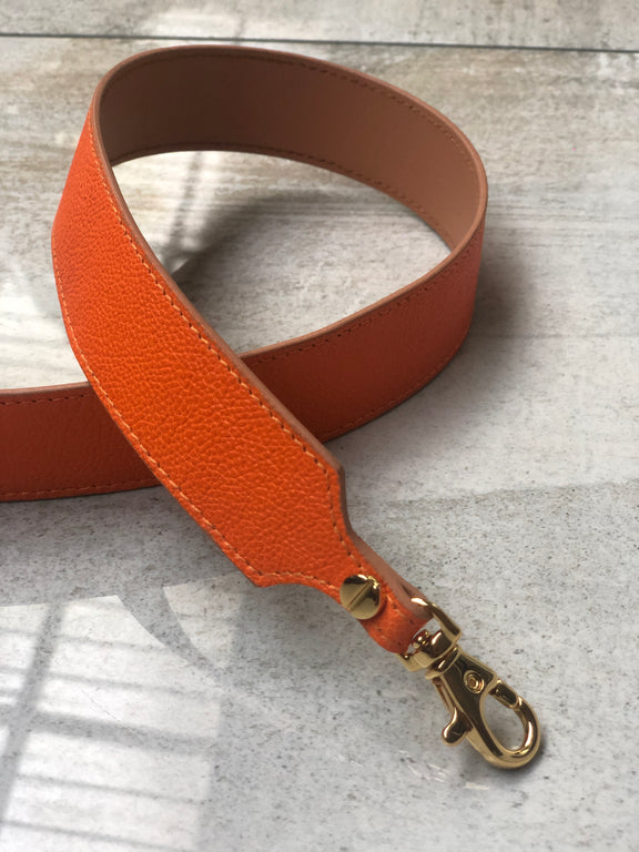 Pop Strap 1.25 (Neon Orange/Tan)