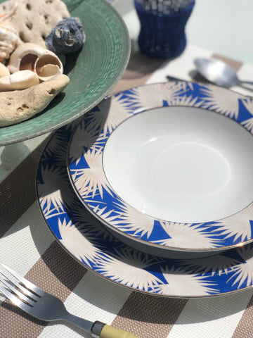 Blue Anahaw Soup Bowls