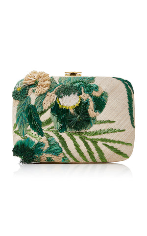 Martina Clutch Green