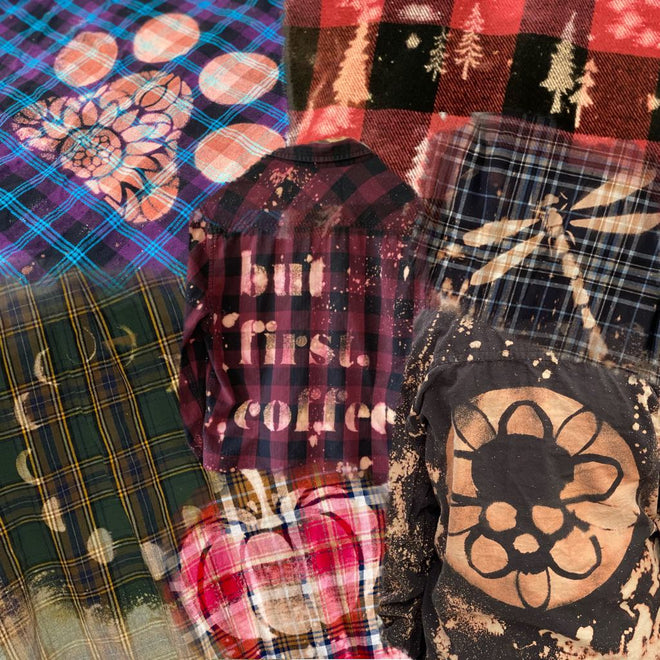 Stamped Flannels