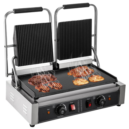 Plancha Electrique Bbq Inox Plaque Barbecue De Table Bbq Gril Press A Sandwich