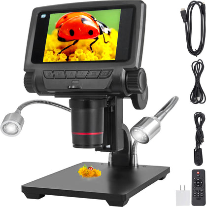 Andonstar Adsm301 Microscope Hdmi Réparation Mobile Réglable Portable Led