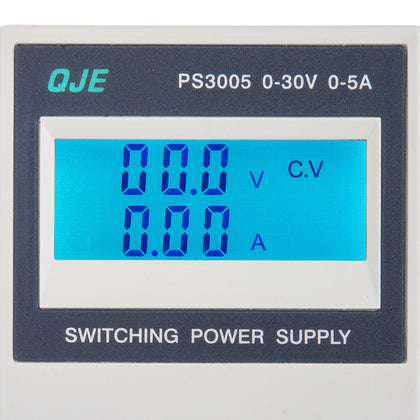 Digital Dc Power Supply 30v 5a Precision Variable Adjustable Lab Grade De Sj