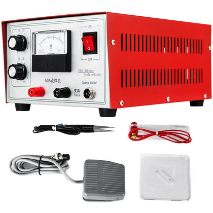 Mini Spot Welder Laser Machine De Soudage Par Points Outil Bijoux Dx-50a 220v