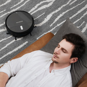 Robot vacuum cleaner V2005, App control, Large dust collector and water tank, capacious battery