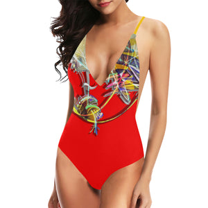 "Maillot ajustable ""Rougecorail"""