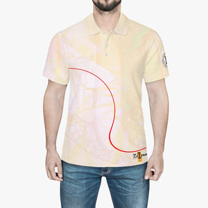 "Polo all-over ""Surligner"""