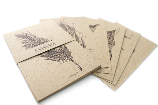 Feather Series Postcards
