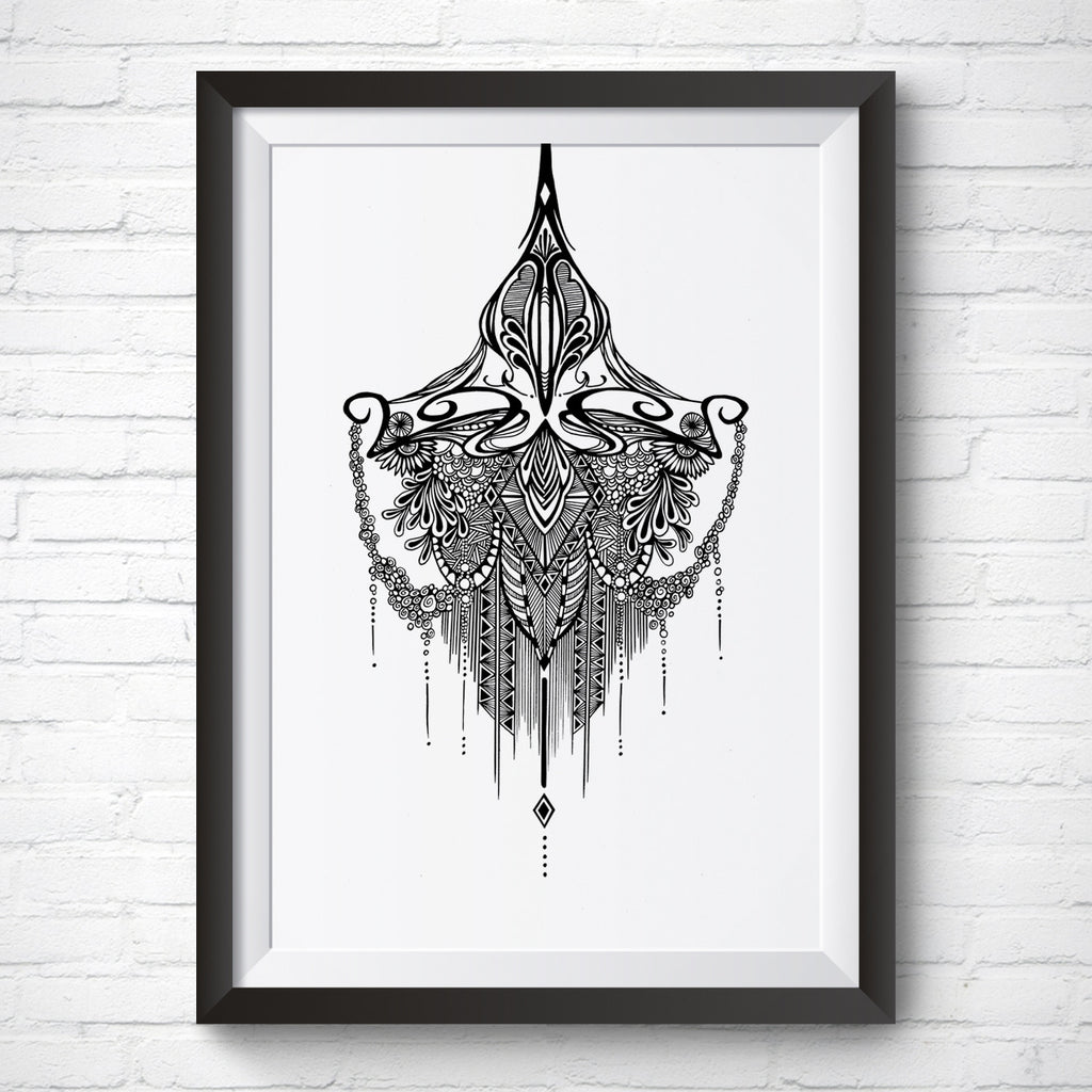 A4 / A3 Art Print – Arabian Night by Peisy Ting