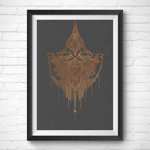 A3 Art Print – Arabian Night by Peisy Ting