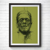 A4 / A3 Art Print – Frankenstein by Vince Low