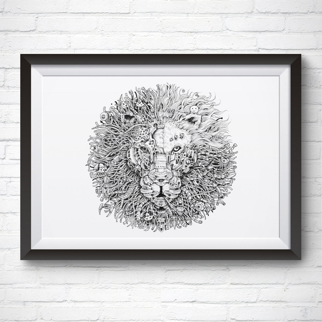 A4 / A3 Art Print – King's Awakening 2.0 by Kerby Rosanes