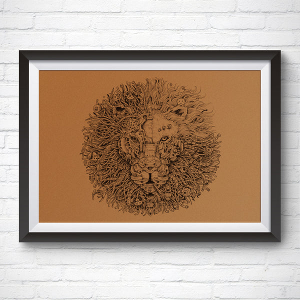 A3 size Art Print – King's Awakening 2.0 by Kerby Rosanes