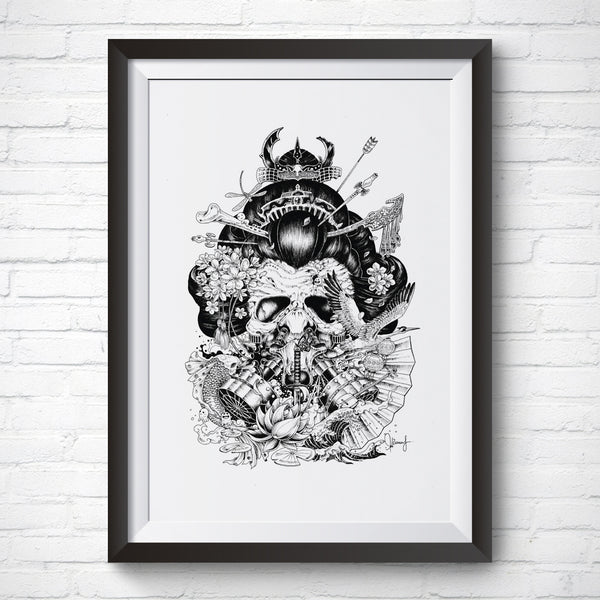 A4 / A3 Art Print – Legendary by Kerby Rosanes