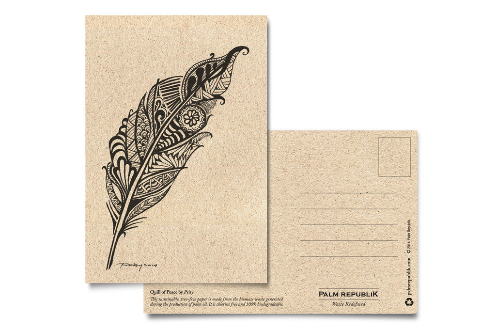 Quill of Peace - Postcard