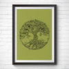 A4 / A3 Art Print – Tree of Life by Kerby Rosanes