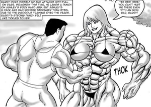 Ashley's Final Semester - part 4 - female bodybuilder