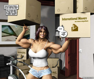 Amazon Neighbor - bodybuilder femminile