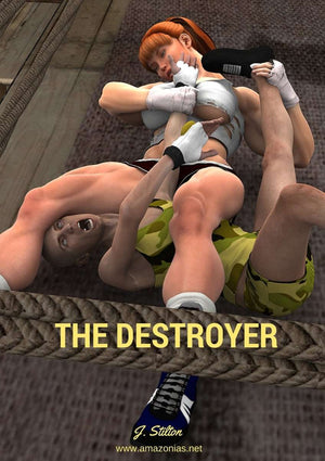 The Destroyer - female bodybuilder