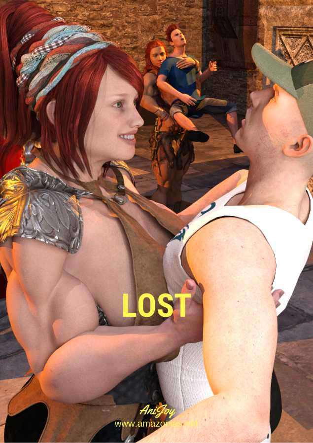 Lost - female bodybuilder