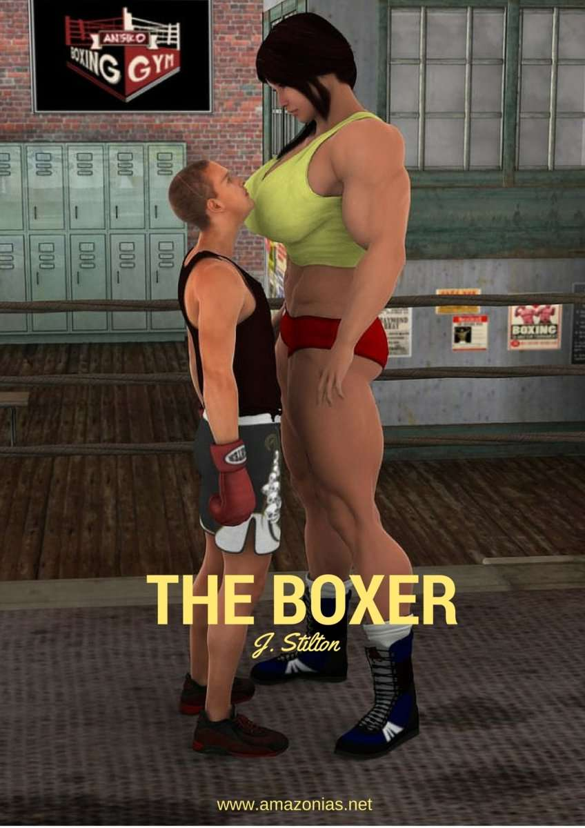 The Boxer, part 1 - female bodybuilder