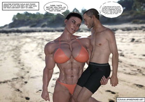 Stepmom - part 5-female bodybuilder - musclegirl -Amazonias