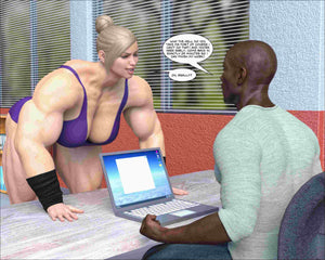 Bigger than the Boys - part 1-female bodybuilder - musclegirl -Amazonias
