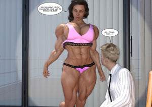 Katie - part 13 - female bodybuilder