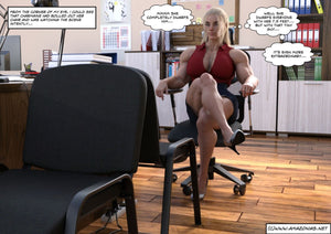 female muscle secretary