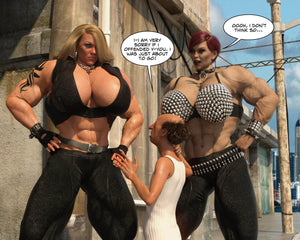 The Games Room, part one: arrested - female bodybuilder